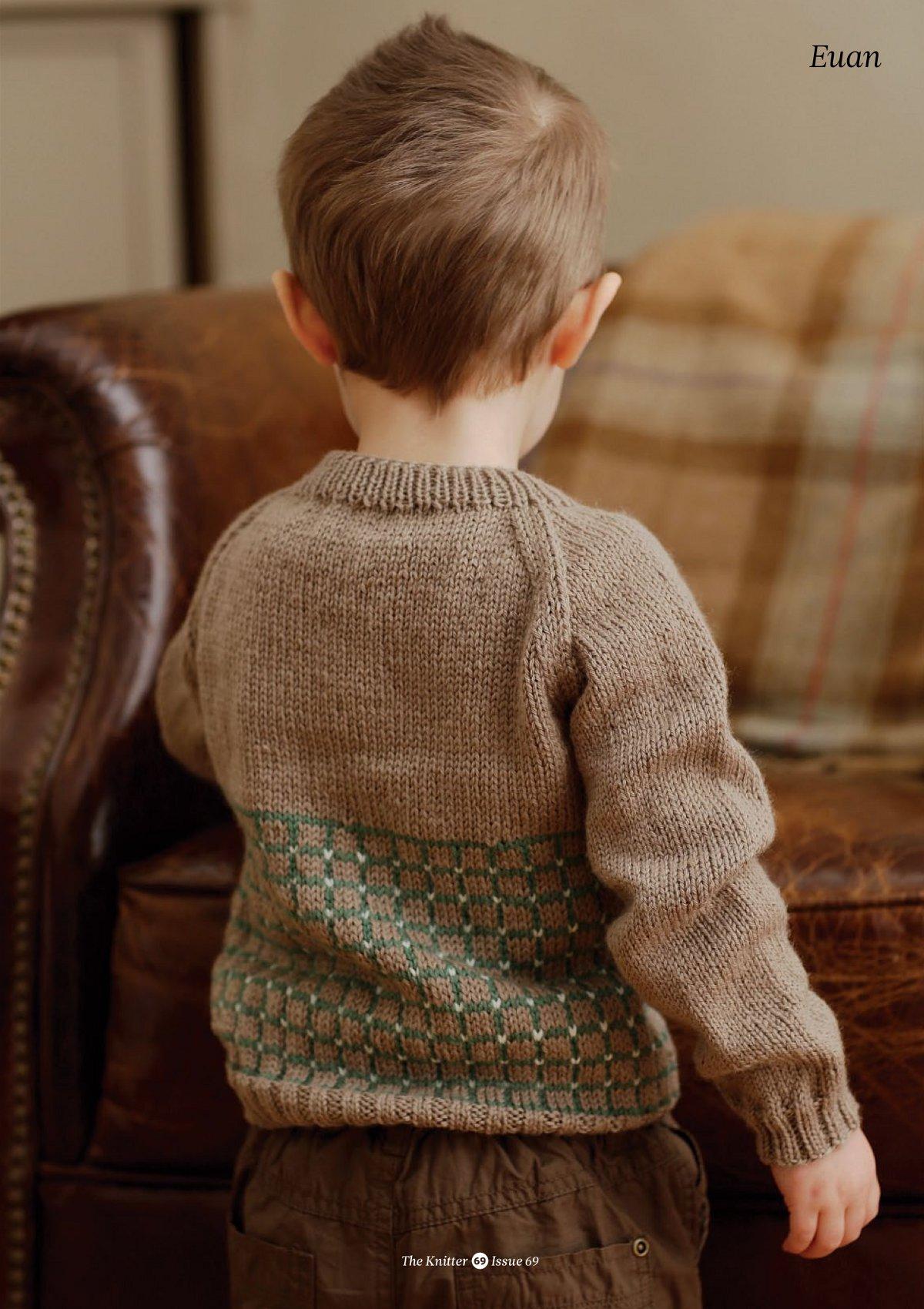 Свитер-реглан для мальчика - Свитера и кофты - Схемы 73