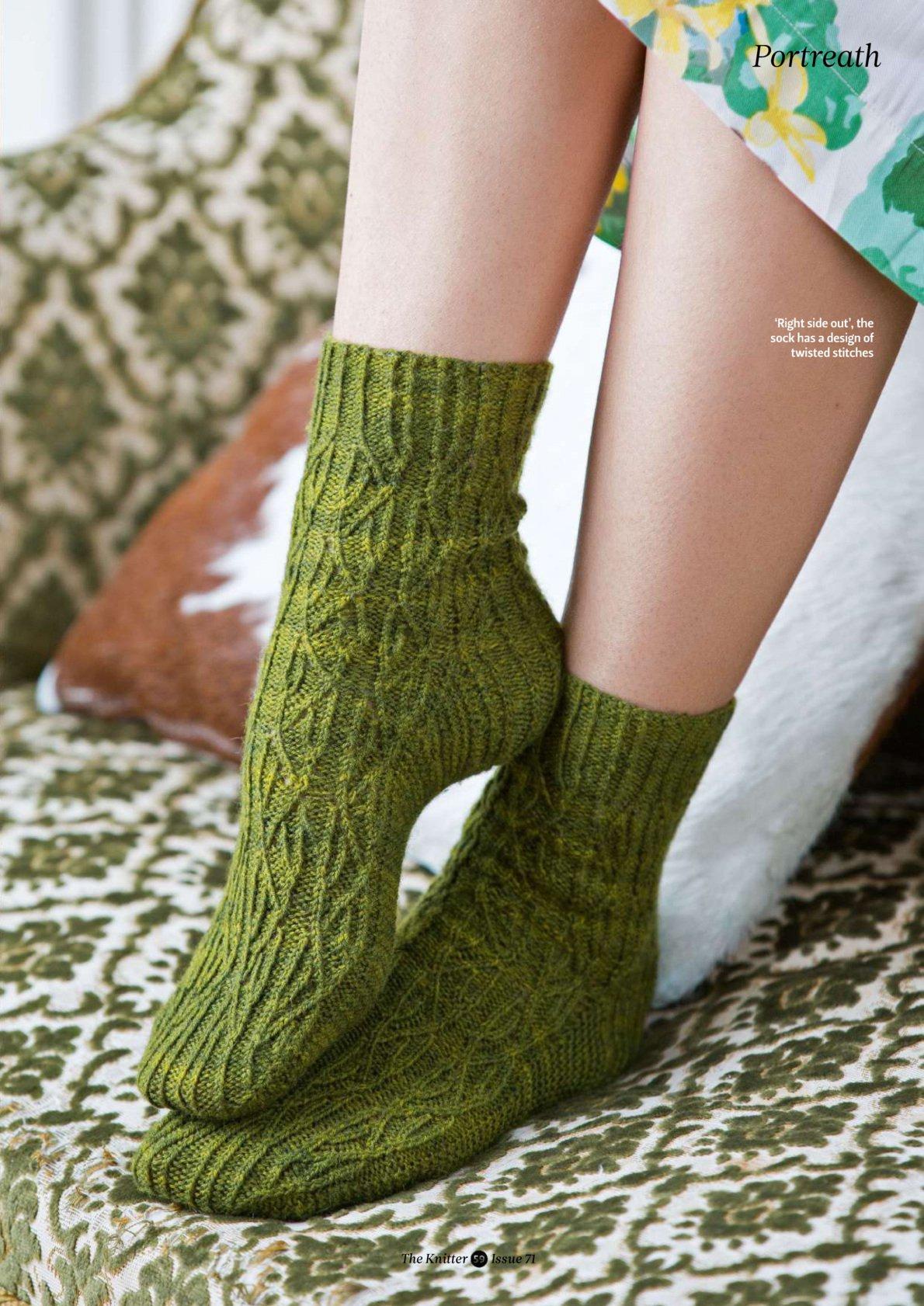 Вязание новые модели носки