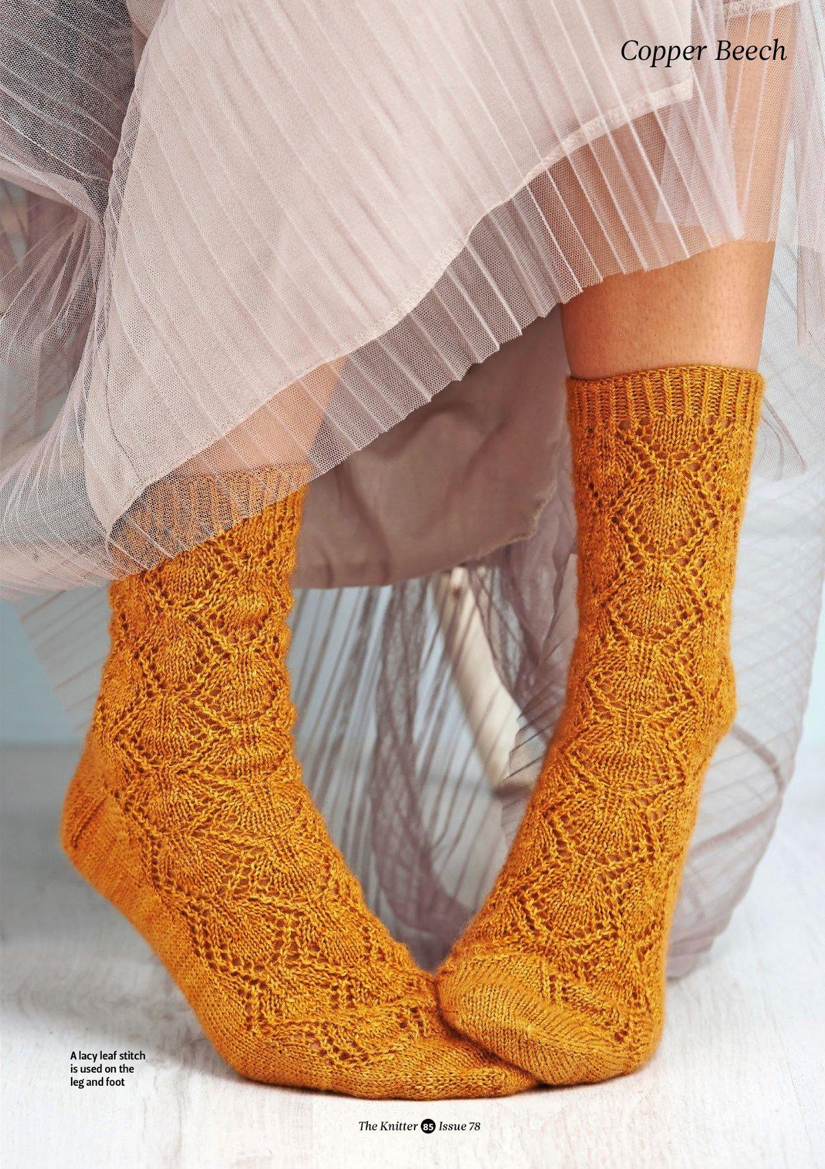 схемы вязания носков и гольф ажурным рисунком