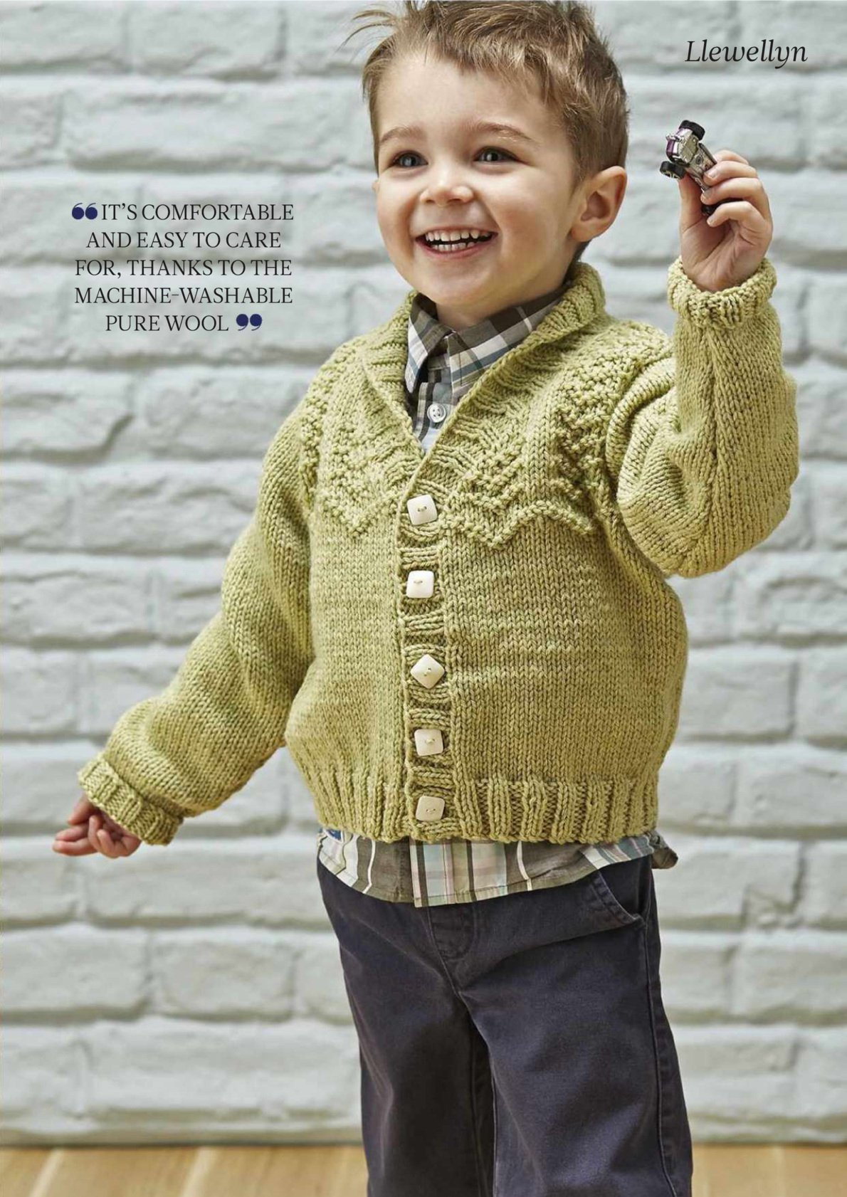 Free Toddler Sweater Knitting Patterns - top down