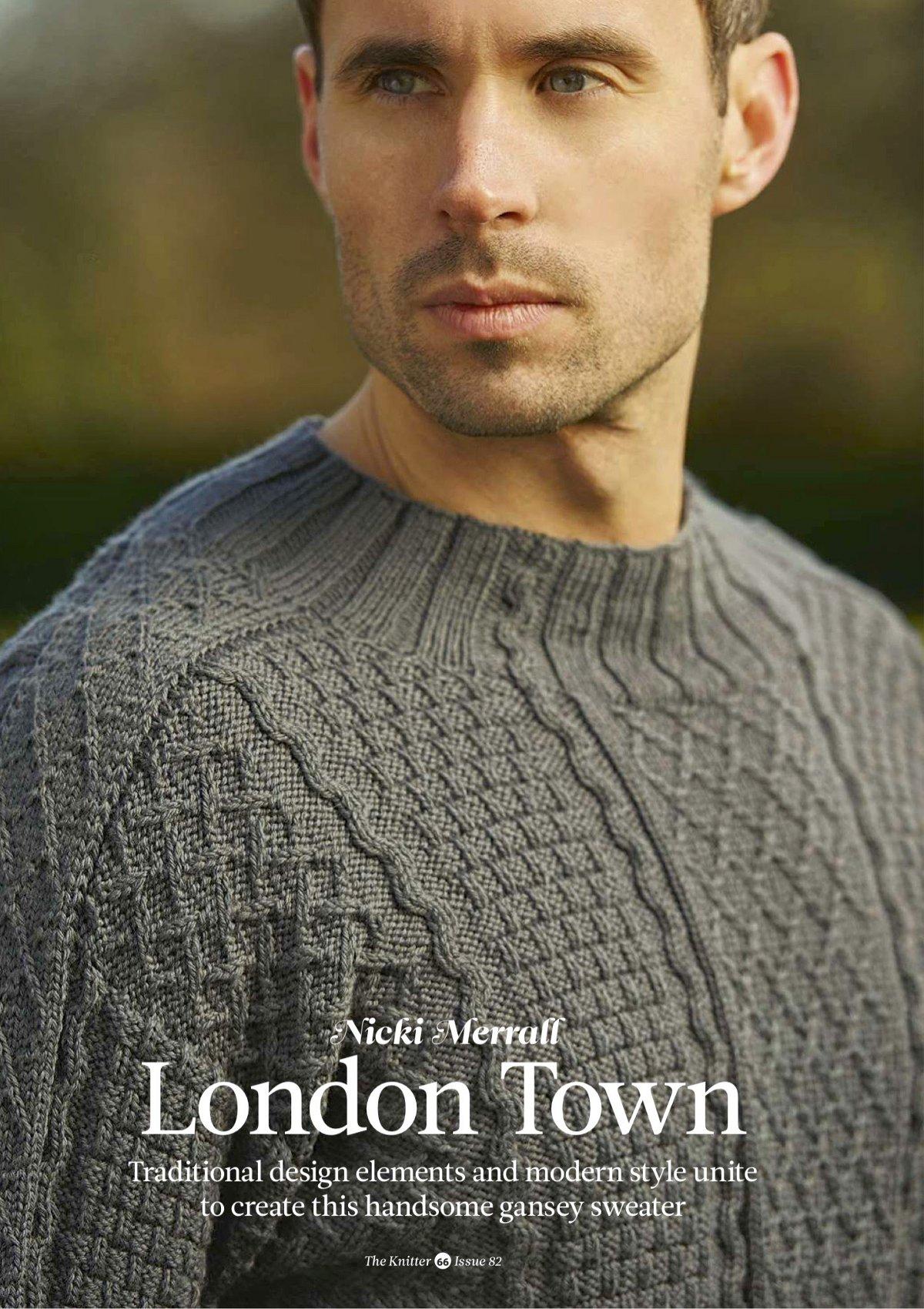 пуловер унисекс схемы вязания