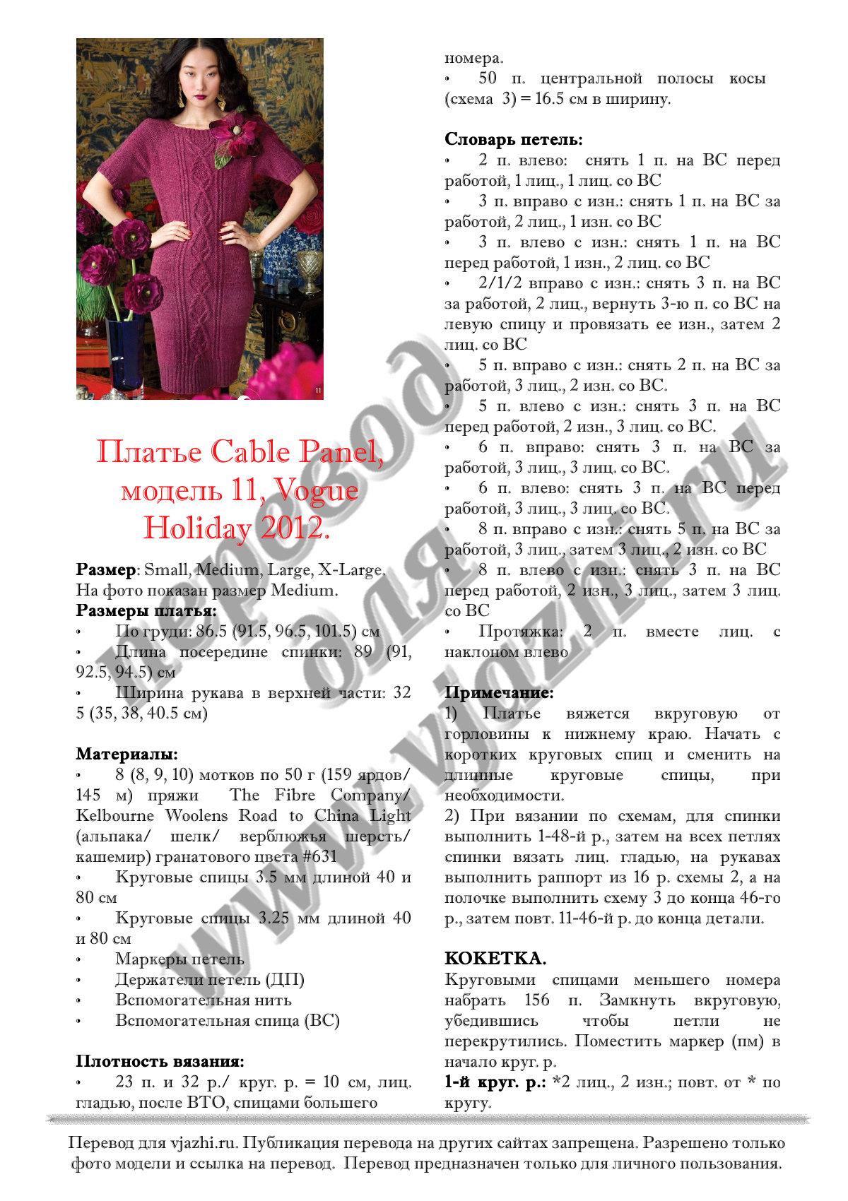 Английский язык перевод платья