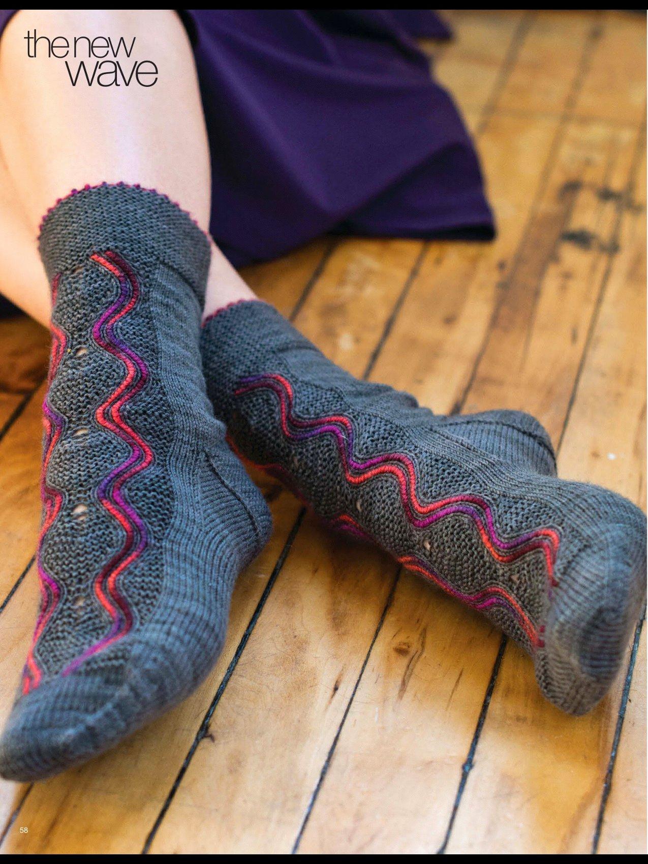 вязание носков спицами и крючком схемы и описания вяжиру