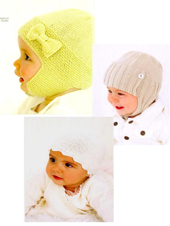 Вязание колпак для малышей 35