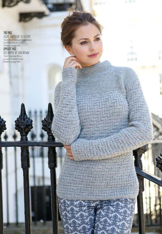 Женский свитер спицами со схемами 2015 2016 фото 758