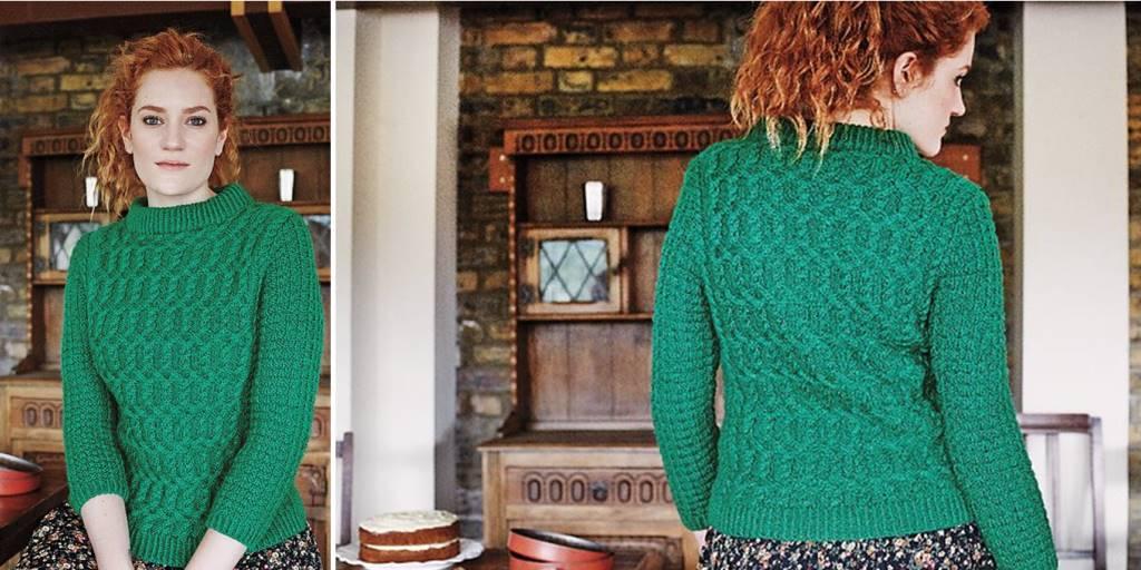 Вязание спицами свитер широкий 28