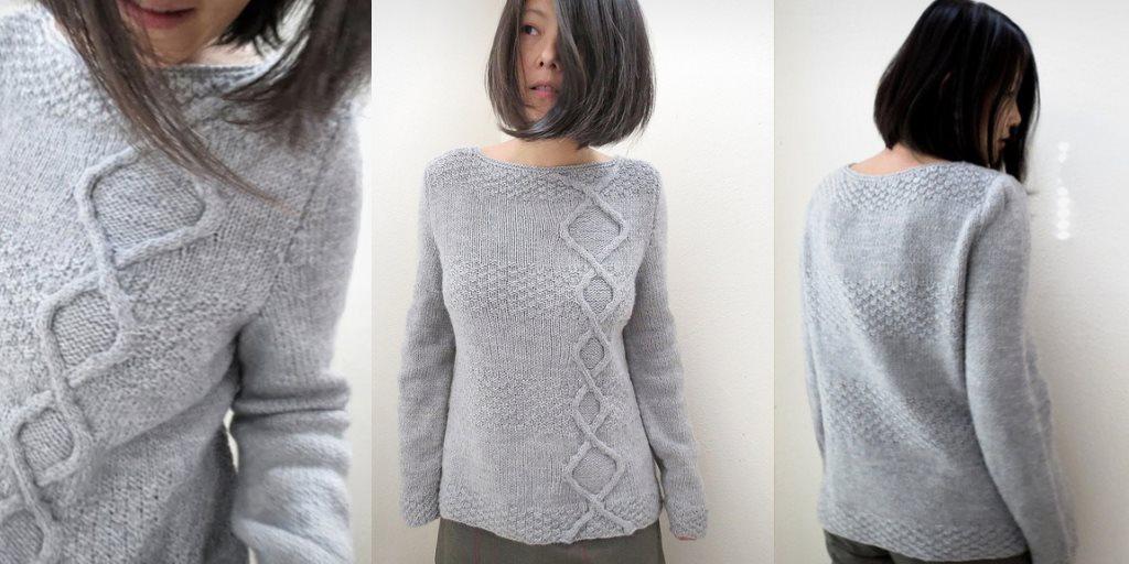 Пуловеры, свитера, джемпера спицами и крючком, модели со ...