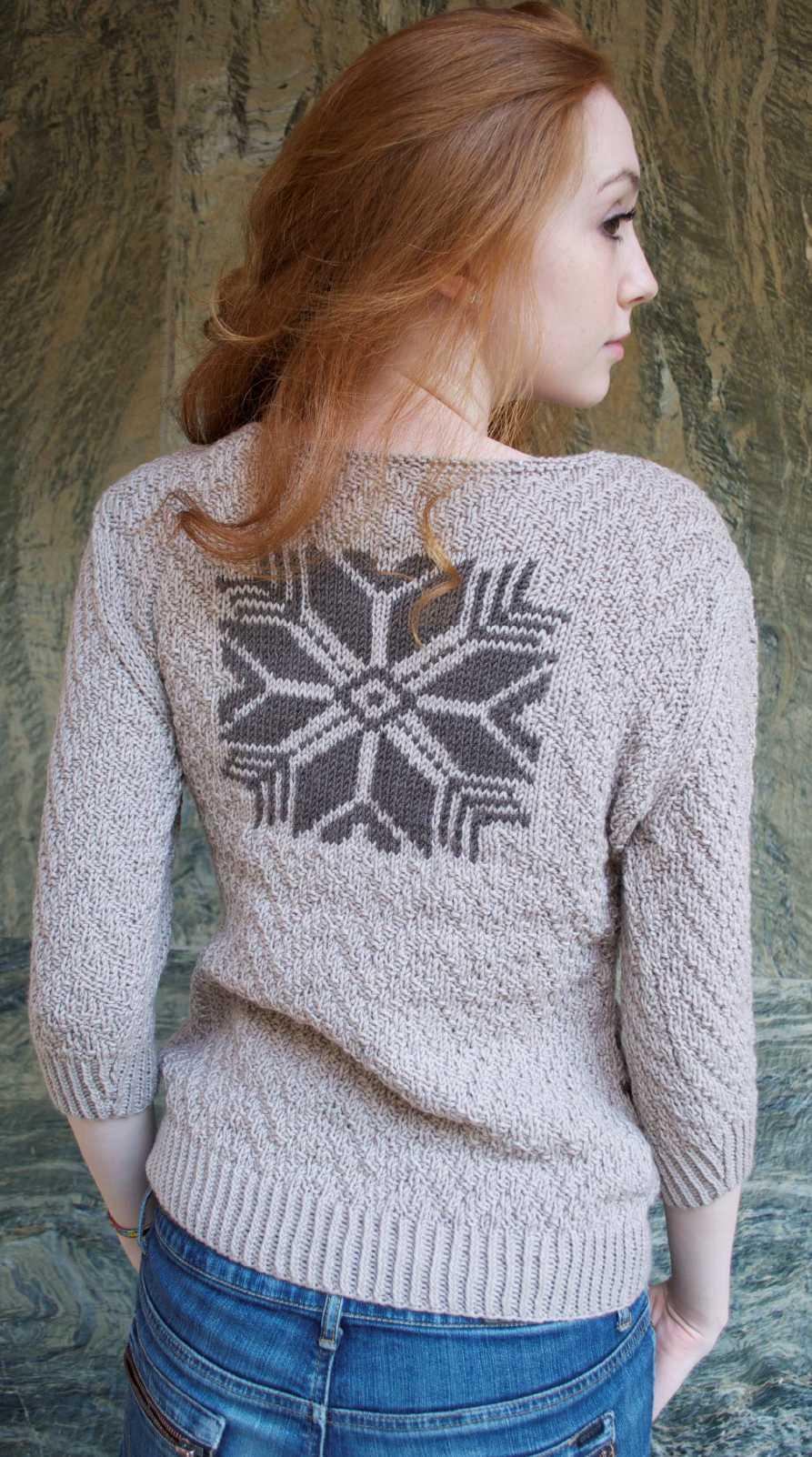 Схема вязанного мужского свитера фото 252