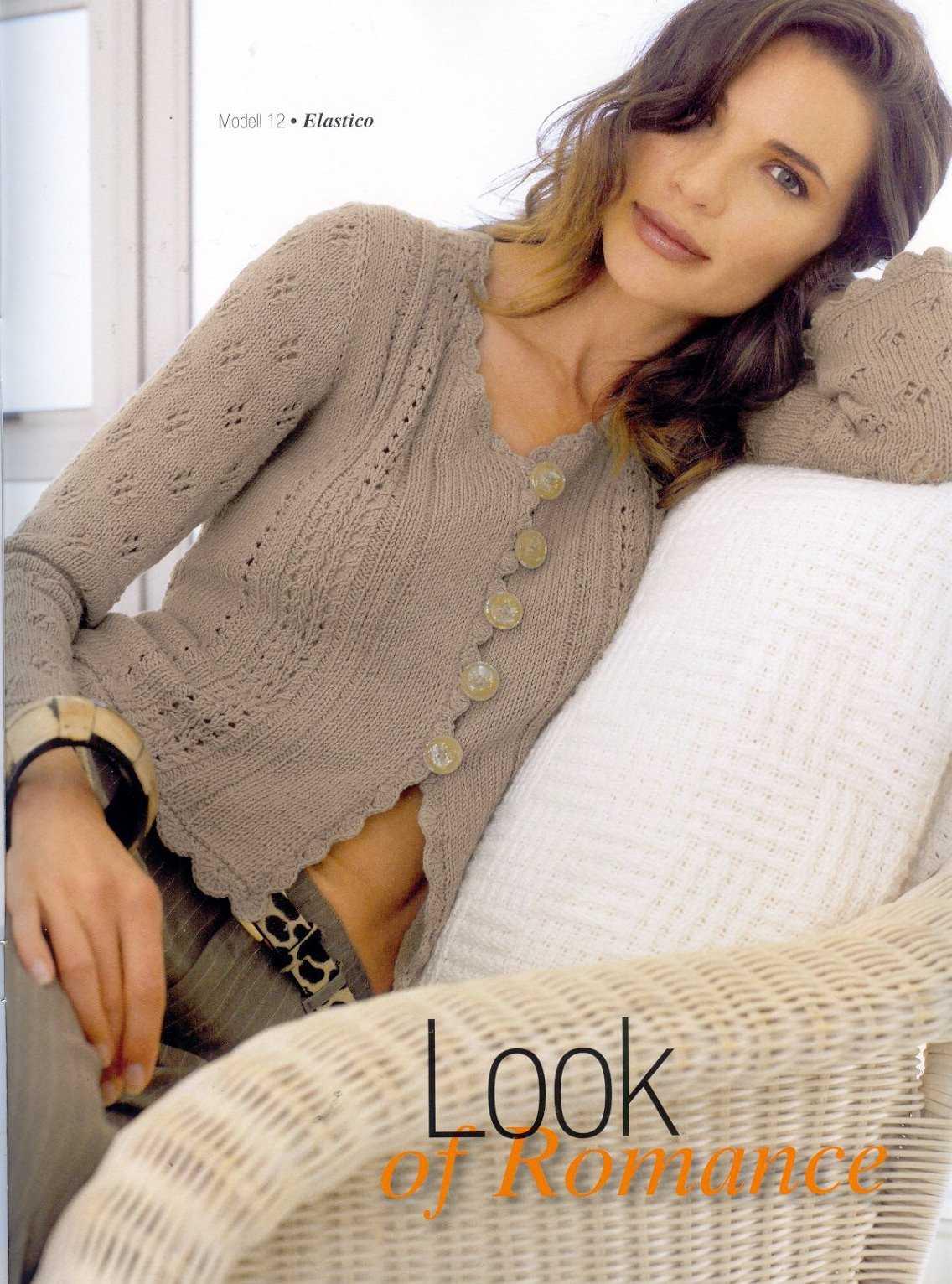 мир вязания вязание спицами женские кофточки