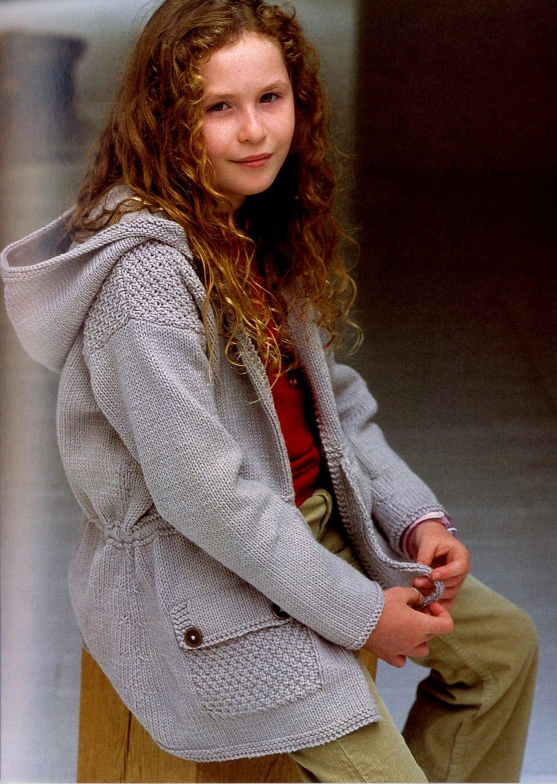 Вязание для подростков девочек кардиган 25
