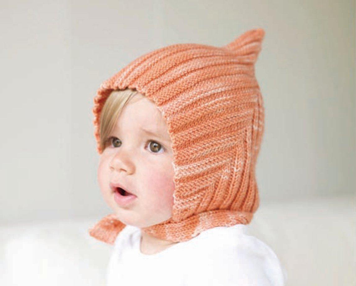 Вязание детской шапочки спицами фото