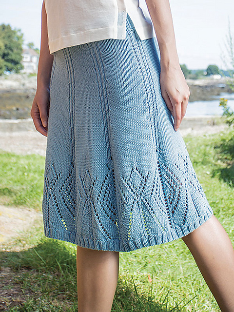 Вязанные юбки больших размеров