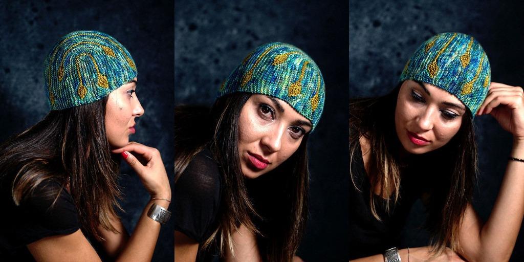 Интересная шапка Bilateral