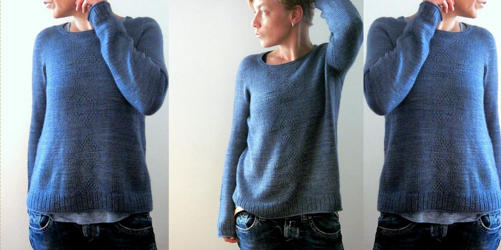 Свободный Вязаный Пуловер Доставка