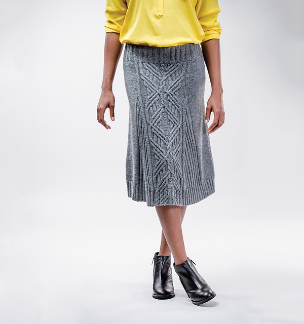 Женские вязаные юбки