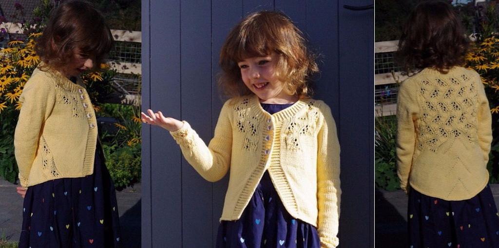 Вязание крючком кардиган для девочки 6 лет 44