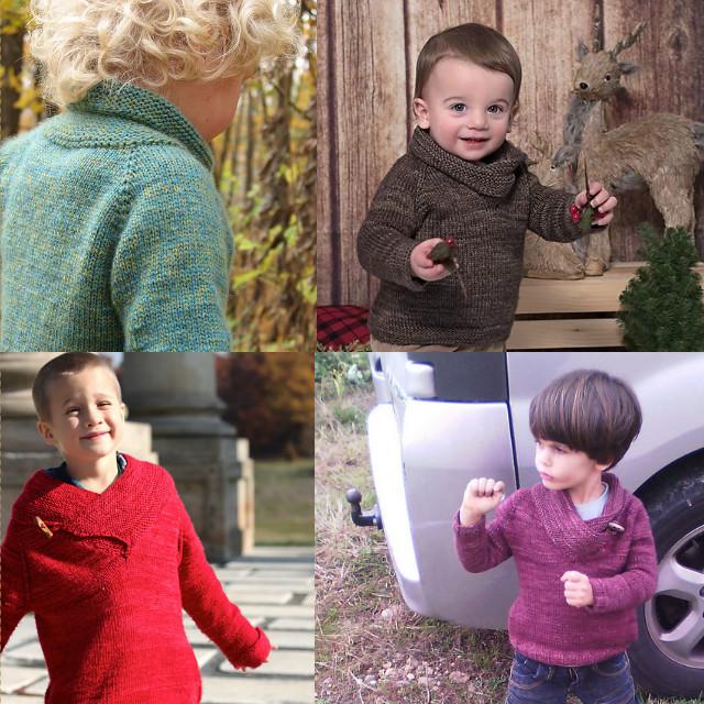 Вязание спицами реглан сверху детский свитер от 3-4 лет