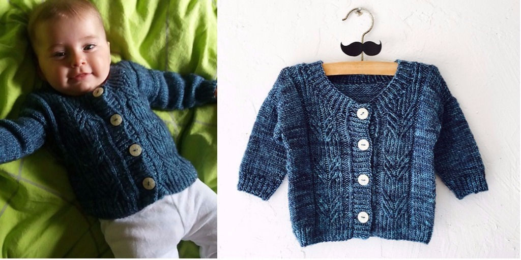 вязание для новорожденных и малышей спицами и крючком схемы и