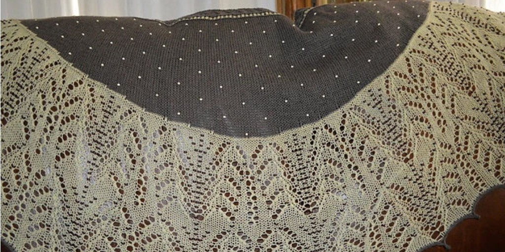 шарфы и шали вязаные спицами и крючком схемы и описания вяжиру