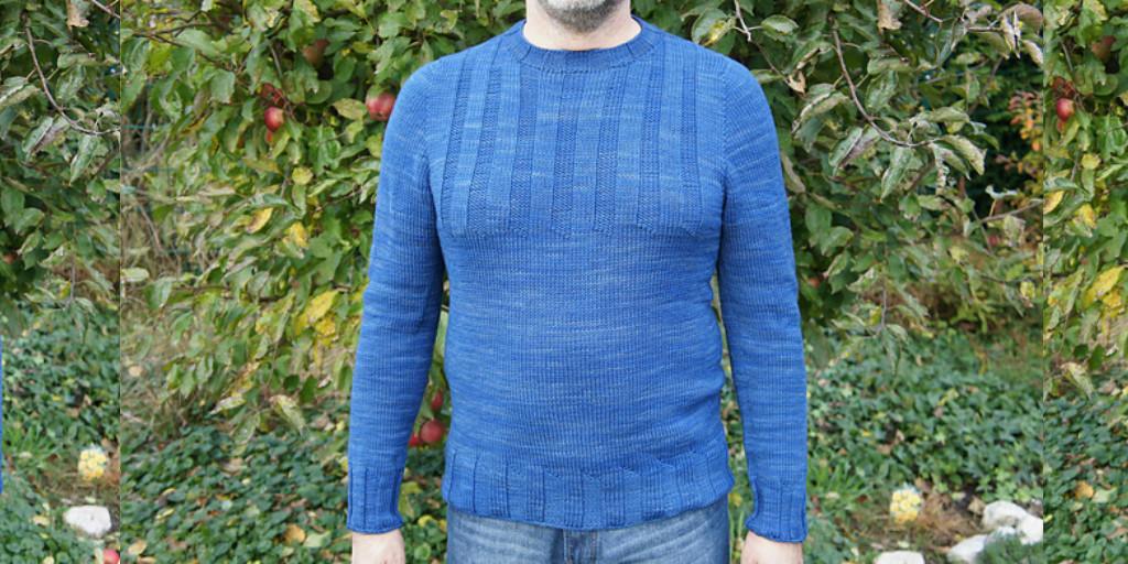 Мужской свитер своими руками связать 83