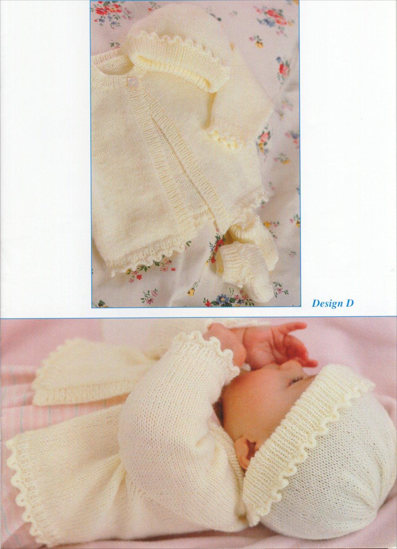 схема вязание кофточки на новорожденного с верху вниз