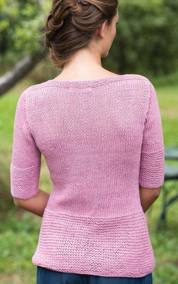 Вязание без швов спицами женские модели