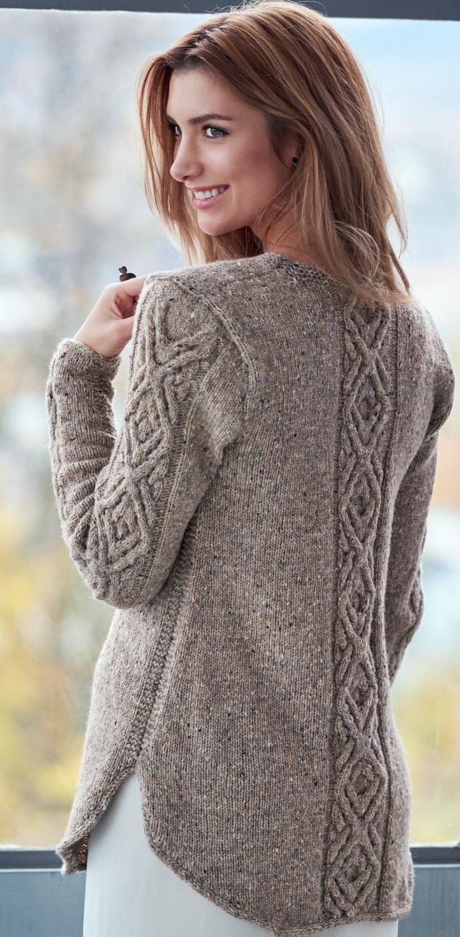 Пуловер с косами Oydis. Обсуждение на LiveInternet ...