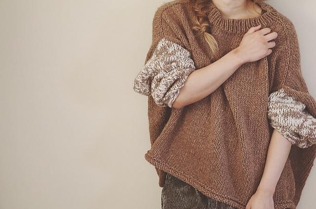 Пуловер Оверсайз