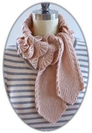 针织领带式围巾 - maomao - 我随心动