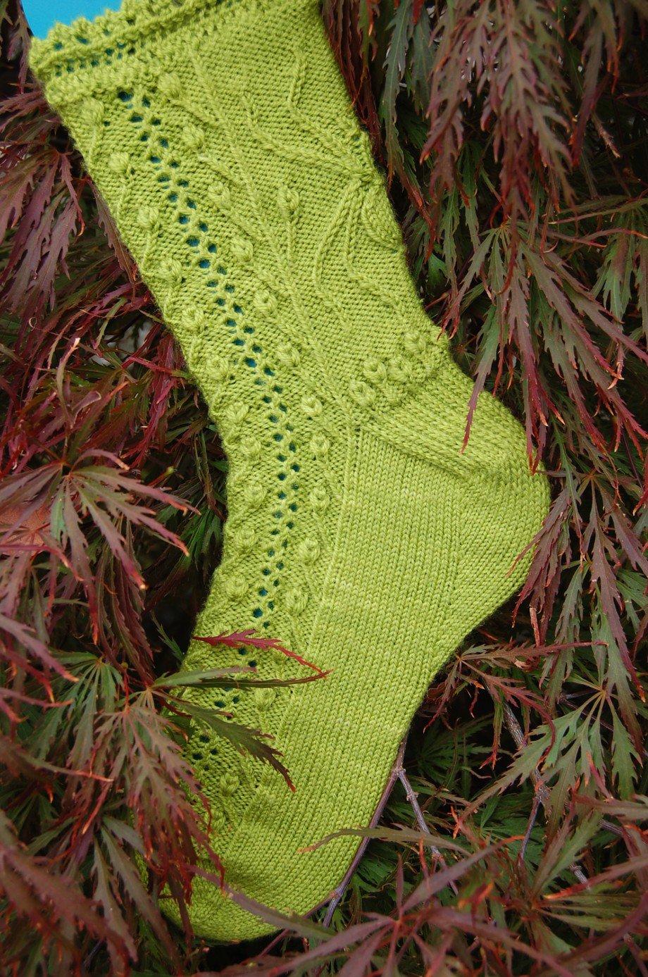 Вязание носков от мыска The Gardener - Вяжи.ру