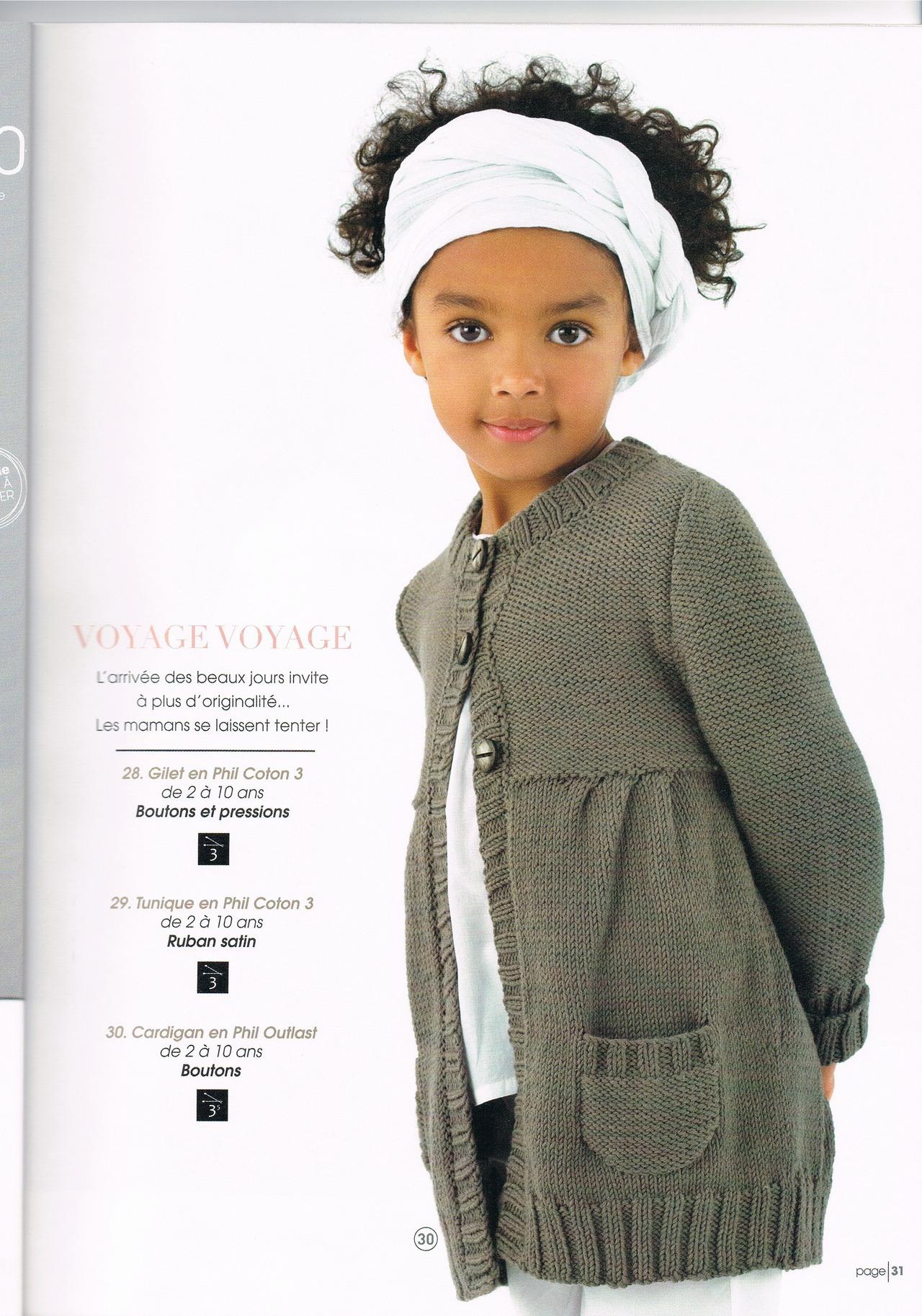 вязаные жилеты для девочек спицами с описанием и схемами