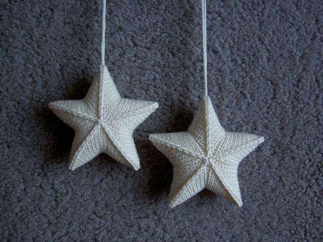 Вязать звезды