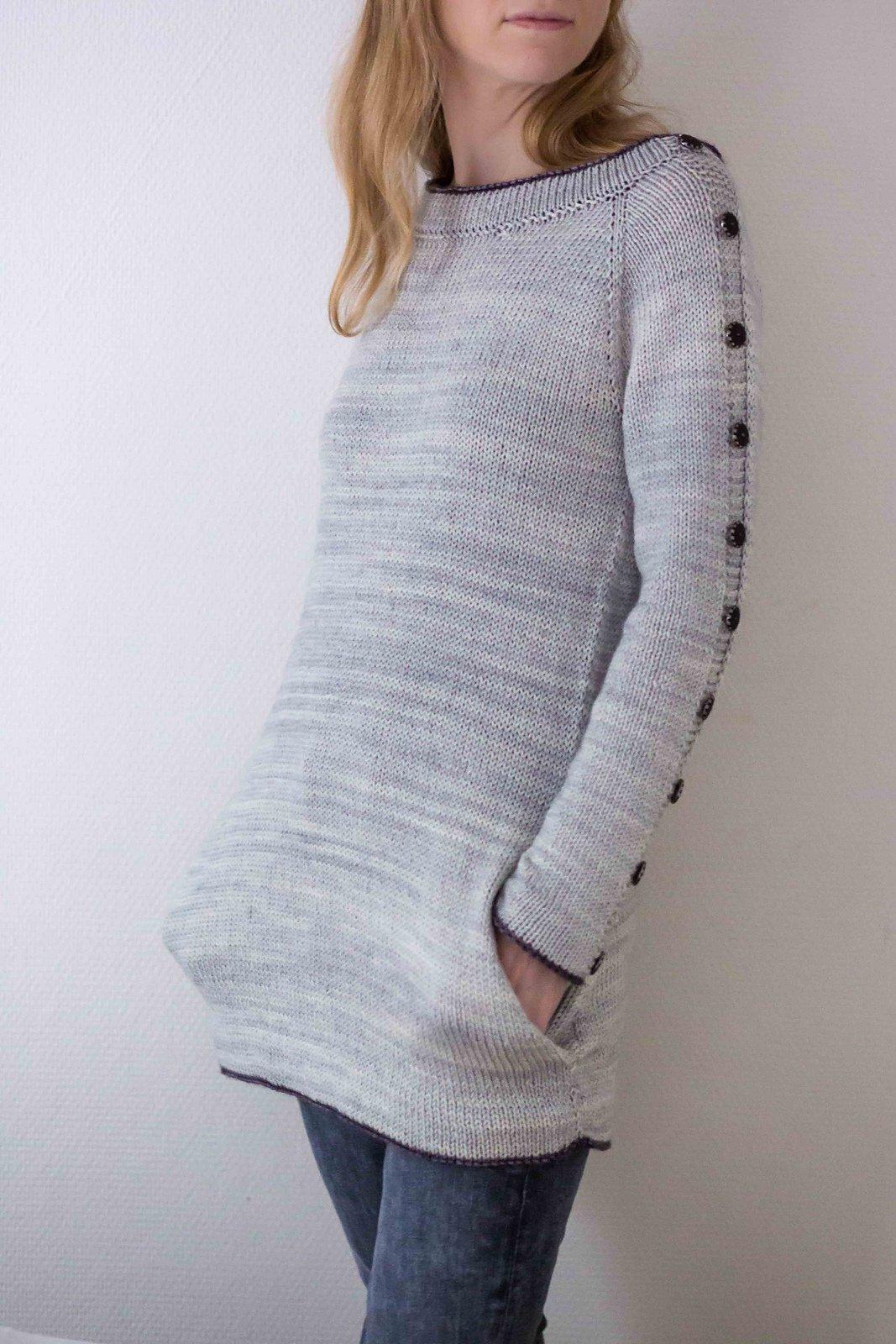 Длинный пуловер доставка