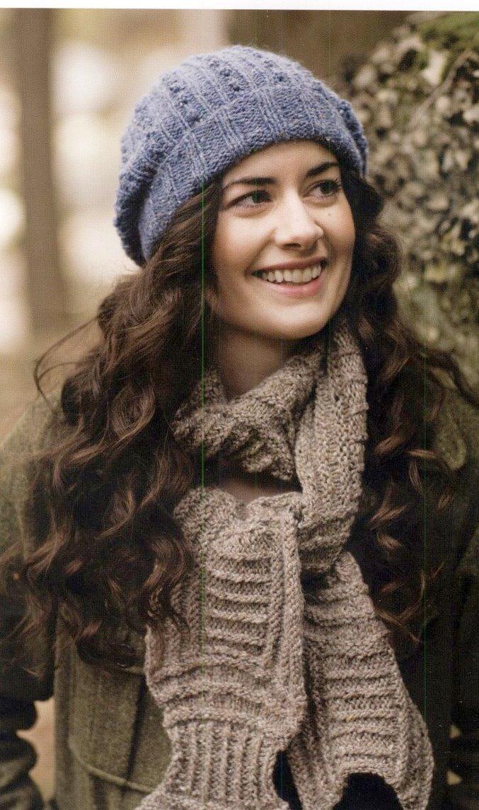 Вязание на спицах шапка ребенку