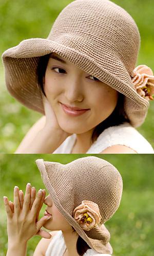 Шляпка соломенная своими руками
