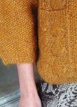 Вязание женщинам пуловера Bobble and cable