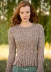 Пуловер спицами Giulietta