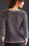 Женский пуловер Garter Stitch