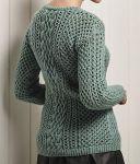 Пуловер спицами Ghyll