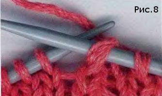 Мастер класс вязания протяжки