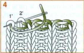 Закрытие вязания итальянским способом