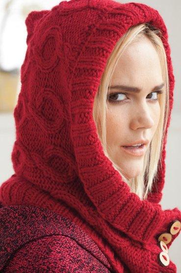 Вязание капора 29, Vogue fall
