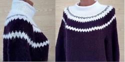 pulover s koketkoj
