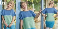 Летняя туника спицами для женщин описание