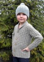 Кардиган для мальчика - маленького джентльмена