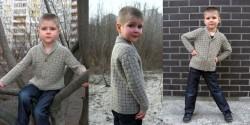 Кардиган для мальчика спицами схемы и описания как вязать