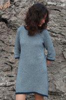 Платье на вязальной машине для женщин с описанием