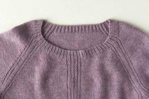 Описание вязаного пуловера