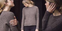 Пуловер женский спицами 2018 с описанием