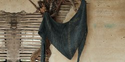 Шаль платок спицами схемы и описание